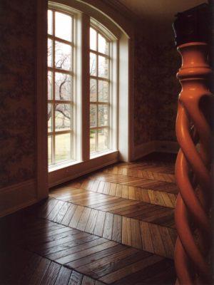 Chevron Stairway Hall