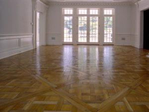 Versailles Pattern Living Room